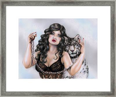 The Coming Of Cool Air Framed Print by Scarlett Royal