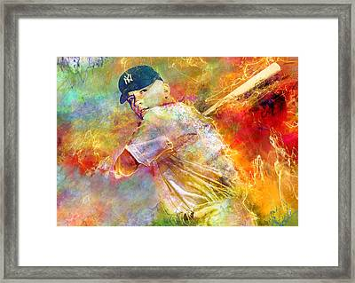 The Commerce Comet Framed Print by Mal Bray