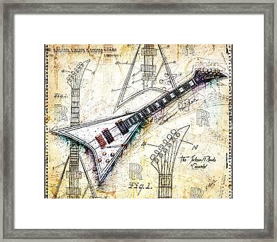 The Concorde Framed Print by Gary Bodnar