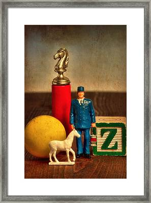 The Conductor Framed Print by Jeff  Gettis