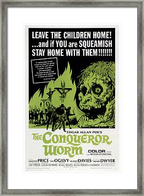The Conqueror Worm, Aka Witchfinder Framed Print by Everett