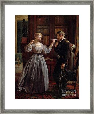 The Consecration Framed Print by George Cochran