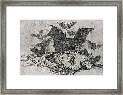 The Consequences Framed Print by Goya