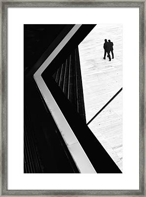 The Conspiracy Theory Framed Print by Paulo Abrantes
