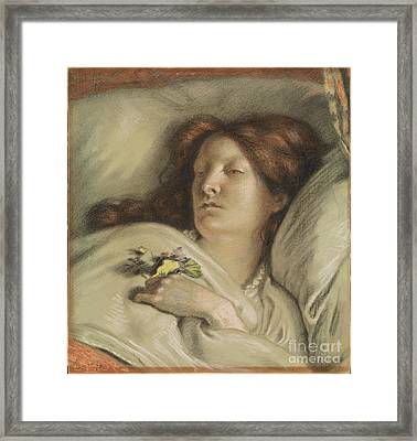 the Convalescent Framed Print by Celestial Images