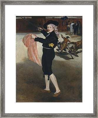 The Costume Of An Espada Framed Print by Edouard Manet