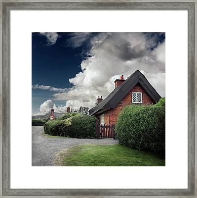 The Cottage Framed Print by Ian David Soar
