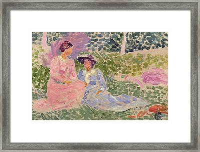 The Countryside  Framed Print by Hippolyte Petitjean