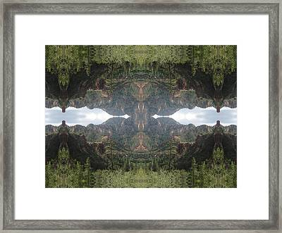 The Creator Within Framed Print by Filip Klein