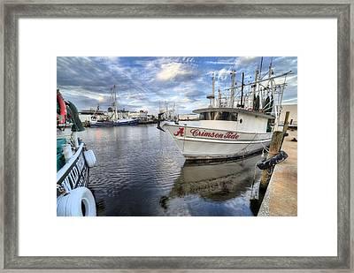 The Crimson Tide Framed Print by JC Findley
