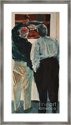 The Critique II Framed Print by Elizabeth Carr