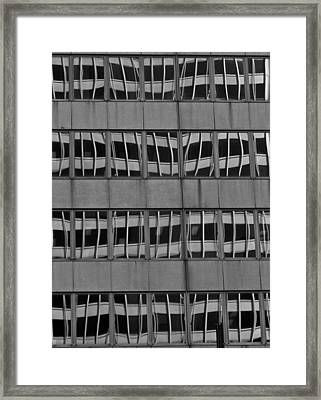 The Crooked House Framed Print by Juergen Weiss