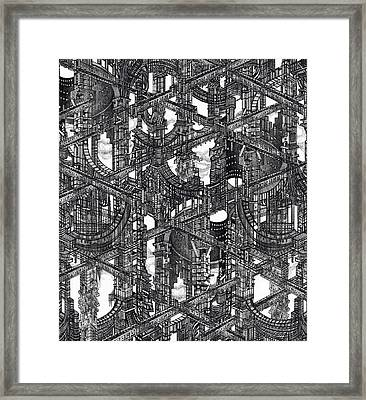 Utopia 33 Framed Print by Serge Yudin