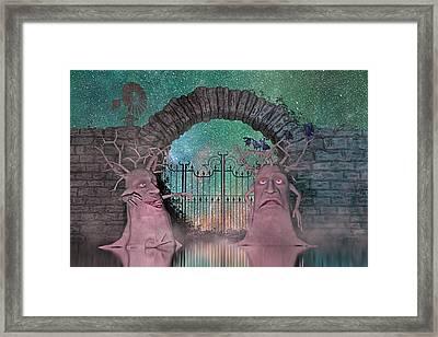 The Crow's Nest Framed Print by Betsy C Knapp