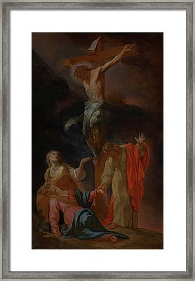 The Crucifixion Framed Print by Mountain Dreams