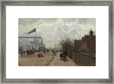 The Crystal Palace Framed Print by Camille Pissarro