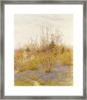 The Cuckoo Framed Print by Helen Allingham