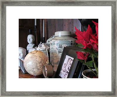 The Curio Shop Framed Print by John Muir