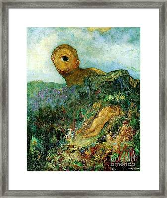 The Cyclops Framed Print by Pg Reproductions