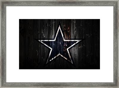 The Dallas Cowboys 2a Framed Print by Brian Reaves