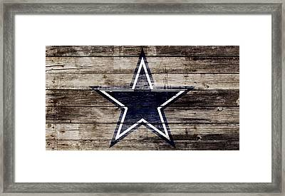 The Dallas Cowboys 3w Framed Print by Brian Reaves