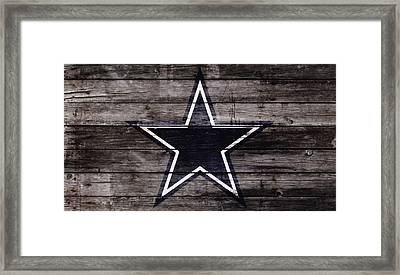 The Dallas Cowboys 4w Framed Print by Brian Reaves