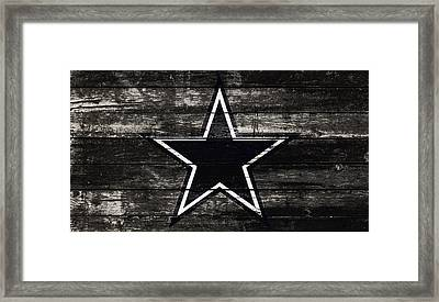 The Dallas Cowboys 5w Framed Print by Brian Reaves