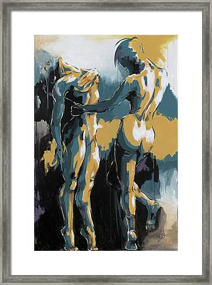 The Dance Framed Print by Konni Jensen
