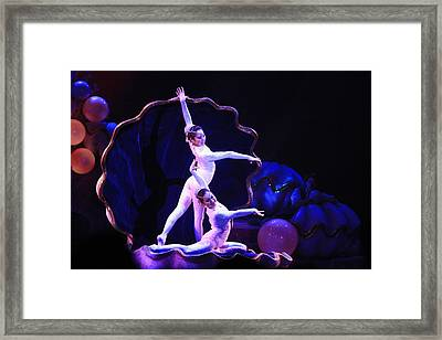 The Dance Framed Print by Randy Matthews
