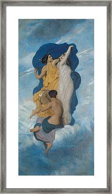 The Dance Framed Print by William-Adolphe Bouguereau