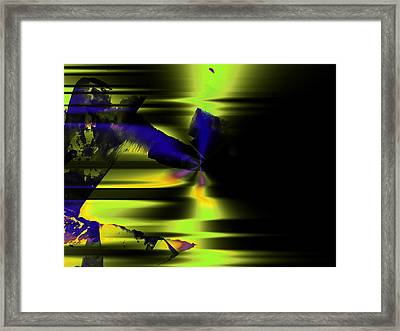 The Dancer Framed Print by Contemporary Art