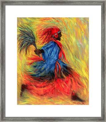 The Dancer Framed Print by Tilly Willis
