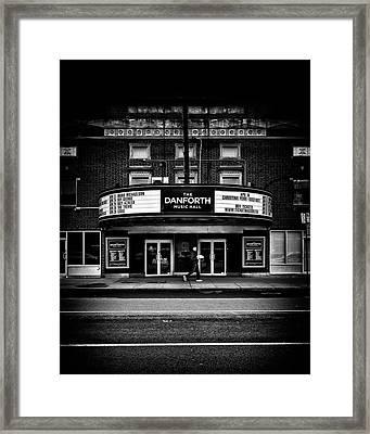 The Danforth Music Hall Toronto Canada No 1 Framed Print by Brian Carson