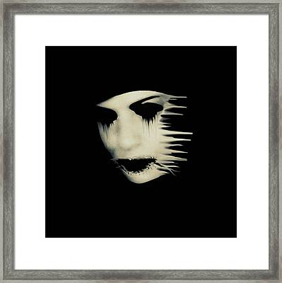 The Darkness Framed Print by Frances Lewis