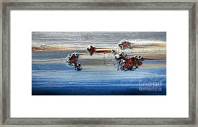 The Dead Sea Framed Print by Olivier Le Queinec