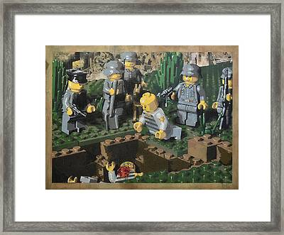 The Death Of 90064 Framed Print by Josh Bernstein