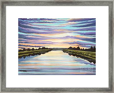 The Delta Experience Framed Print by Elizabeth Robinette Tyndall
