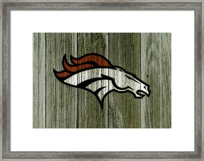 The Denver Broncos C1 Framed Print by Brian Reaves