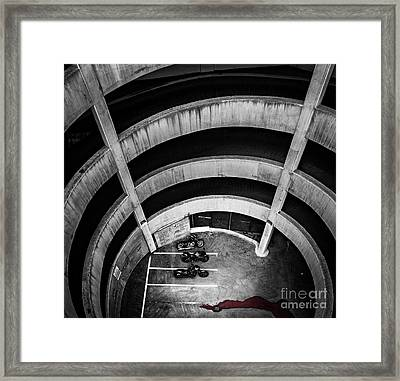 The Descent Framed Print by Darcy Michaelchuk