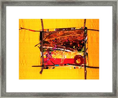 The Desert Is No Place For Chickens Framed Print by Charlotte Nunn