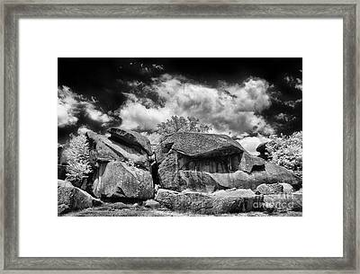 The Devils Den Framed Print by Paul W Faust - Impressions of Light