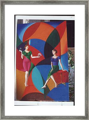 The Dignity Of Love Framed Print by Mak Art