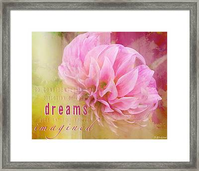 The Direction Of Your Dreams - Image Art Framed Print by Jordan Blackstone