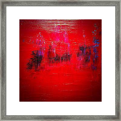 The Disappearing Framed Print by John Patterson