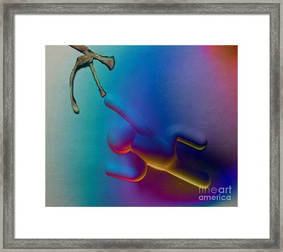 The Dna Of Artificial Intelligence Framed Print by John Malone