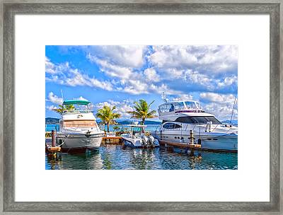 The Dock Beside Us Framed Print by Camille Lopez