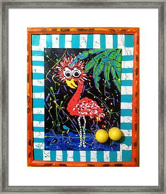 The Dodo Bird Framed Print by Doralynn Lowe
