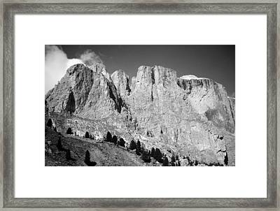 The Dolomites Framed Print by Juergen Weiss