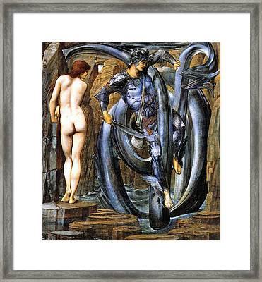 The Doom Fulfilled Framed Print by Edward Coley Burne-Jones