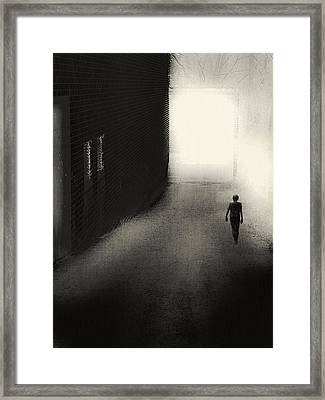 The Door Framed Print by Melissa D Johnston